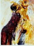 Akt, Bild, Maler, Bildhauer, Cornelius Richter, Body, Touch, Painting