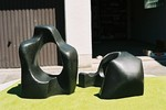 Plastik, Skulptur, Maler, Bildhauer, Cornelius Richter, Bildhauerei, Stein, Bronze